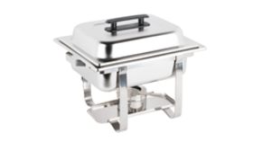 Image of a Chafer - Stainless Steel - 4qt (square)