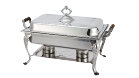 Image of a Chafer - 8Qt Silver (Rectangle)