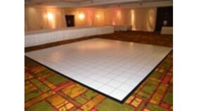 Image of a Dance Floor - White 18x18