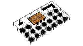 Image of a SPECIAL EVENT FRAME TENT PACKAGE - 180 Guest