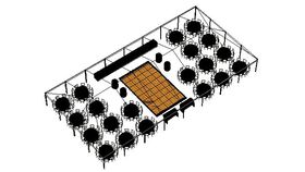 Image of a SPECIAL EVENT FRAME TENT - 200 Guest