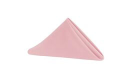 Image of a Napkins - Polyester - Dusty Rose