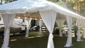 Image of a Frame Tent - 10x50