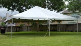 Image of a Frame Tent - 30x30