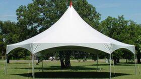 Image of a High Peak Tent - 35x40 Hexagon (8' Legs)