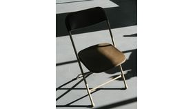 Image of a Chair - Brown Poly Folding