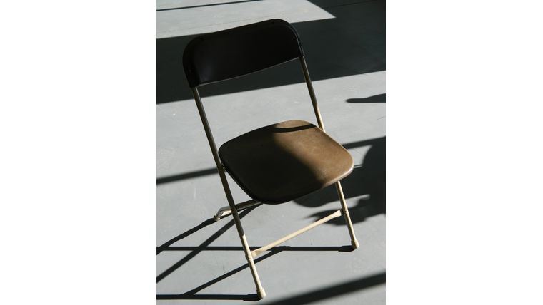 Picture of a Chair - Brown Poly Folding
