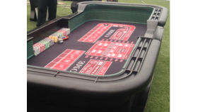 Image of a 10' PRO CRAPS TABLE