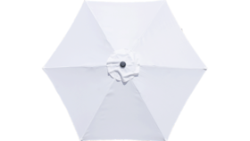 Image of a 9ft Market Umbrella White