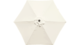 Image of a 9ft Market Umbrella Light Ivory