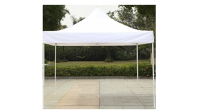 Image of a 10 x 10 Canopy Tent w/ White Top