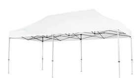 Image of a 10 x 20 Canopy Tent w/ White Top