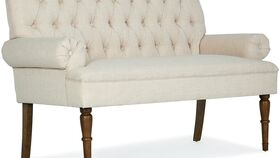 Image of a Accent Beige Settee