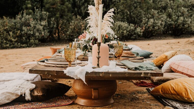 Picture of a Boho Party Package