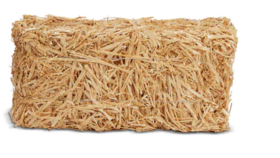 "Image of a 20"" Straw Hay"