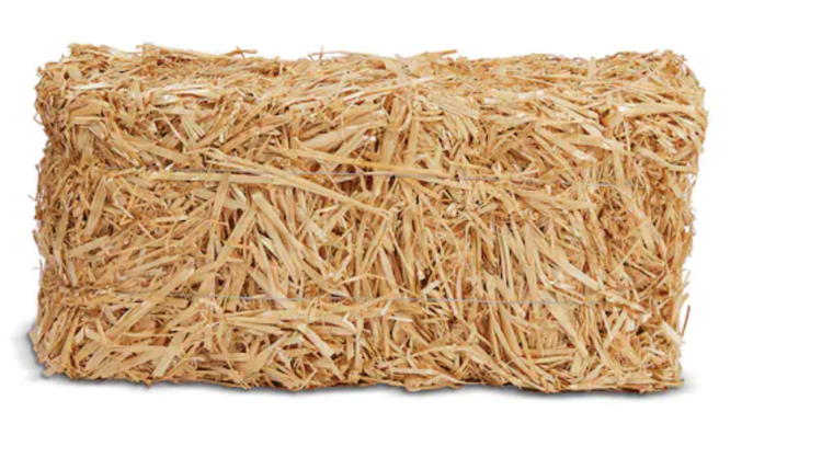 """Picture of a 20"""" Straw Hay"""