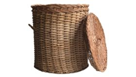 Image of a Basket Rattan, Medium