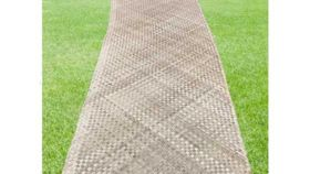 Image of a Aisle Runner, Seagrass -  Lauhala