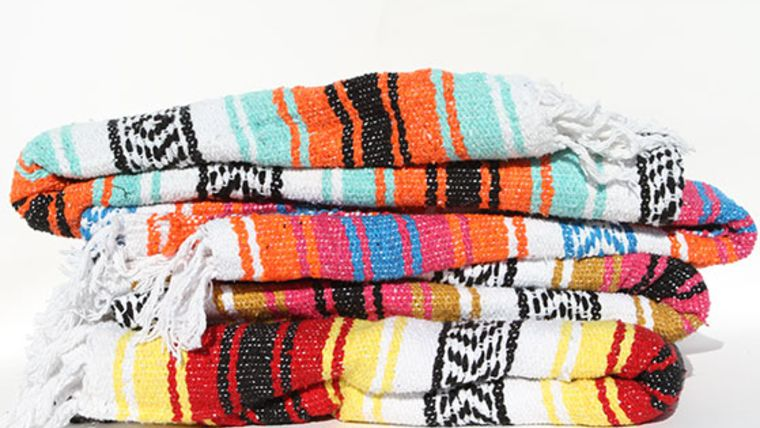 Picture of a Blanket, Baja - Bright Colors