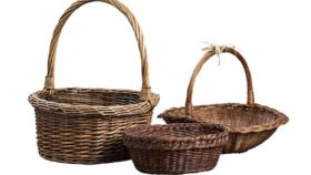 Image of a Basket, Apple Basket
