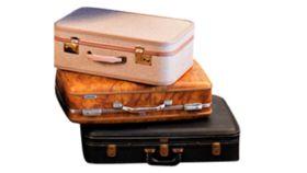 Image of a Suitcase, Cream