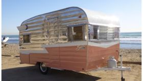 Image of a 1963 Shasta Trailer
