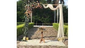 Image of a Arch, Garden/Deck