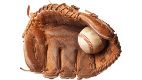 Image of a Baseball, Glove
