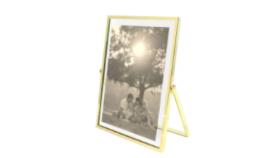 Image of a Frame, Floating Gold