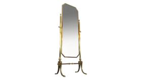 Image of a Floor Mirror, Cheval