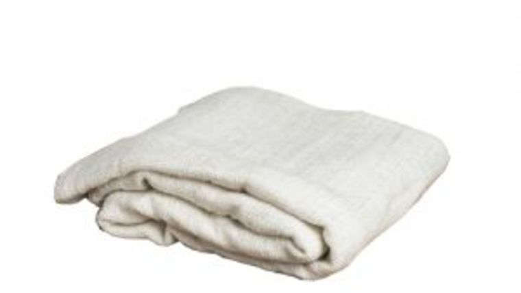 Picture of a Blanket, Cream Knit - Tassles