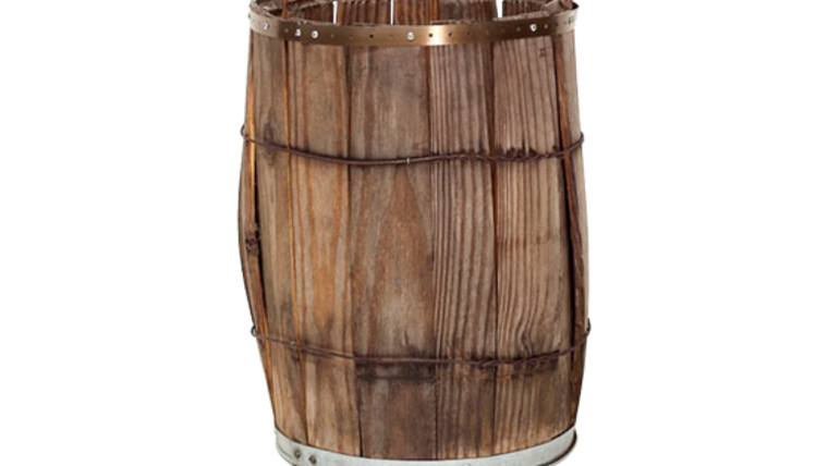 Picture of a Barrel, Nail Keg