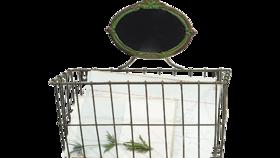 Image of a Basket, Metal
