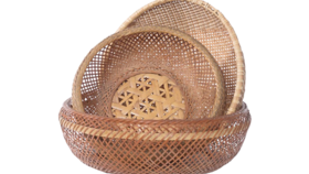 Image of a Basket, Assorted Woven
