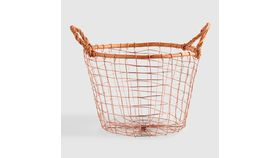 Image of a Basket, Copper Round