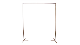 Image of a -- Stand, Copper - Rack/Stand - FOR USE WITH MACRAME BACKDROP ONLY. NOT BOOKED SEPARATELY.