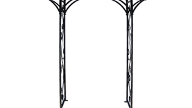 Image of a Arbor, Wrought Iron Black