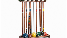 Image of a Croquet Set, Vintage