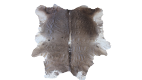 Image of a Cowhide Rug, Salt and Pepper