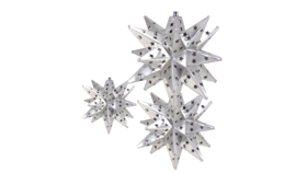 Image of a Tin Stars, Silver