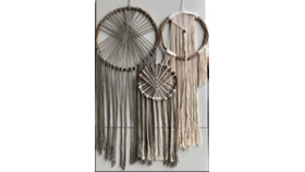 Image of a Dream Catcher, Extra Large Off White