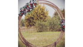 """Image of a 96"""" Round Arch"""