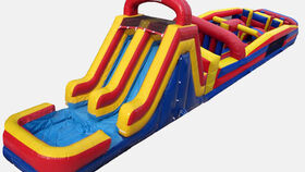 Image of a Large Obstacle Course