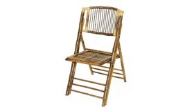 Image of a Bamboo Folding Chair