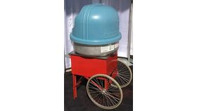 Image of a Cart for Cotton Candy Machine