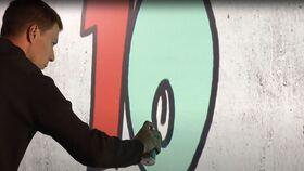 Image of a Air Graffiti Wall