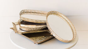 Image of a Vanity Mirror Trays