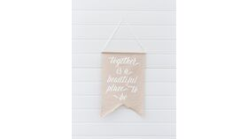 Image of a Beautiful Fabric Banner