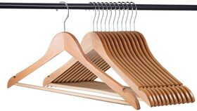 Image of a Wooden Hangers