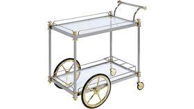 Image of a Peri Glass Bar Cart